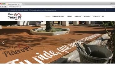 Web de Obras Piñero
