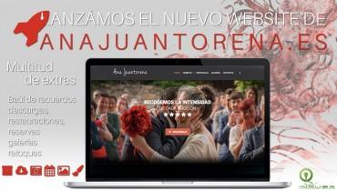 Página Web de la fotografa Ana Juantorena