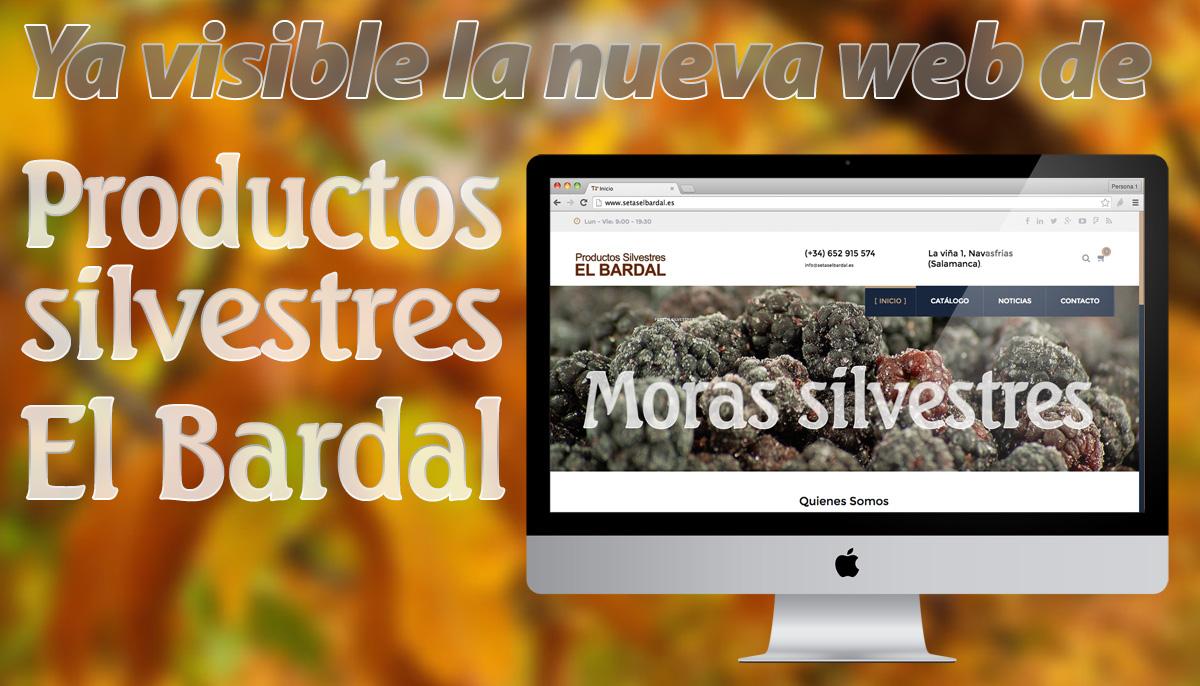 Presentamos www.setaselbardal.es