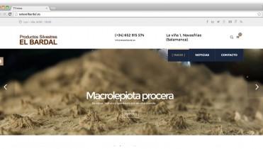 Página web de setas El Bardal
