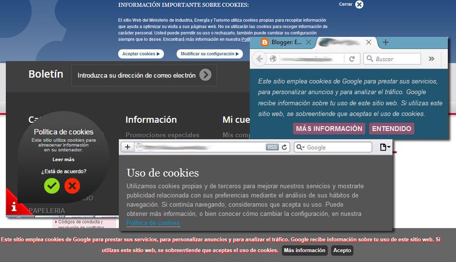 Los avisos de uso de cookies podrían tener los dias contados