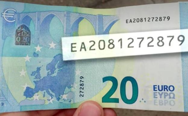 El billete de 20 euros del Hormiguero que vale mucho mas.